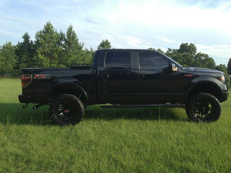 ford blacked out