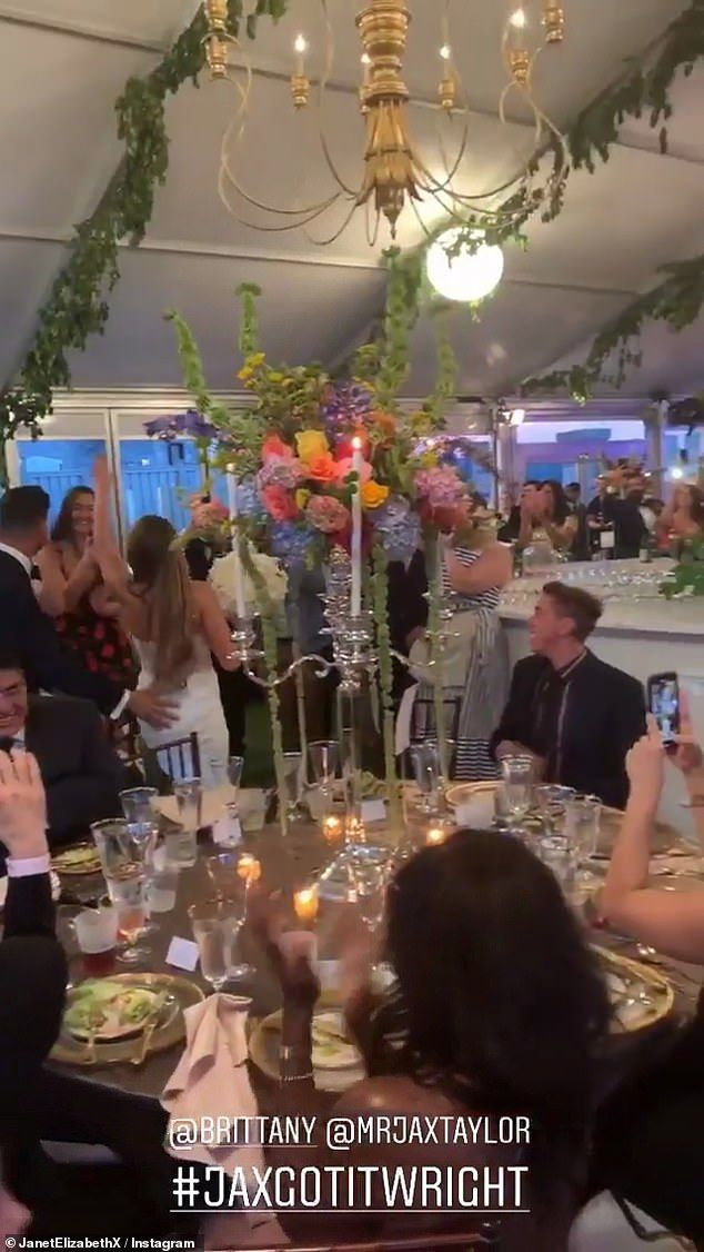 Jax Taylor And Brittany Cartwright Marry In Star Studded Ceremony Wedding Ceremony Reception