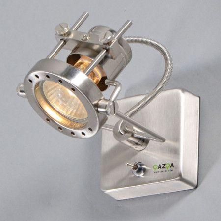 Lampka wtykowa Suplux 1 stal #stylskandynawski #nowoczesnelampy #lampyindustrialne