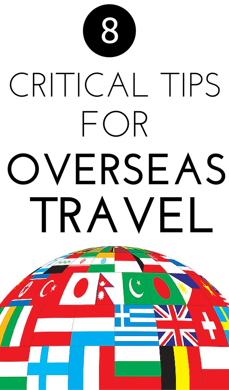 International travel can be especially expanding! But before you go, tap here for 8 critical steps to take before your next international travel adventure to make it smooth and easy and your best trip yet!