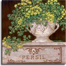 Паке-де-ушастый нянь. Прекрасный мягкий желтый цветок, бутоны и бледно-зелеными листьями, здесь представлены чучела в антикварной вазе. Фарфоровая ваза с гордостью садится на окно отображения вещей. Эта картина маслом светлее по цвету, но по-прежнему имеет силу и присутствие любого куска сделано Джанет Kruskamp. Как и все оригинальные картины Джанет, это тоже была рука художника.