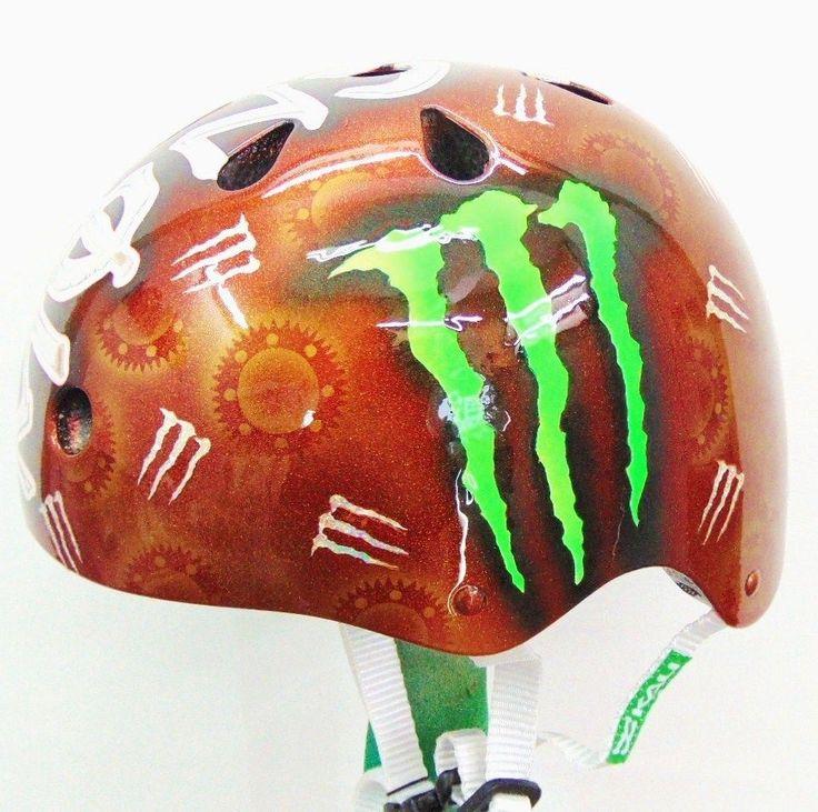 Monster Racing BMX Skateboard Snowboard Helmet -NEW- #Kali