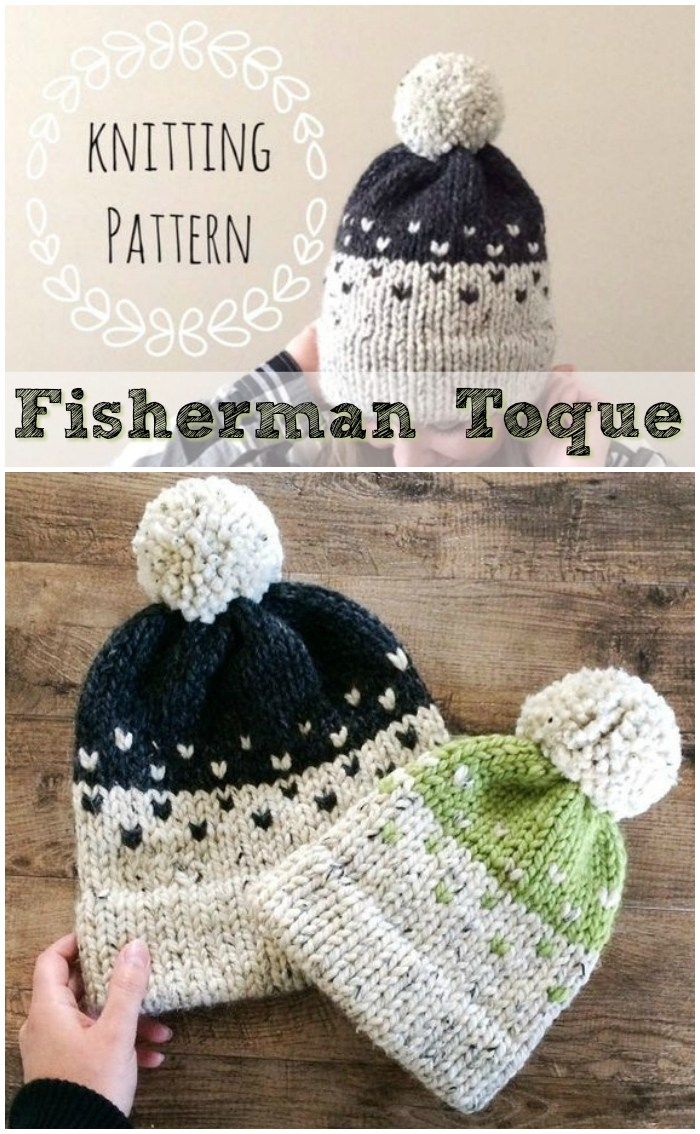 ... pattern with double brim knit brim. Looks so nice in a chunky bulky  yarn!  knit  knitting  pattern  beanie  toque  hat  doublebrim   craftevangelist d3b0022dfe1