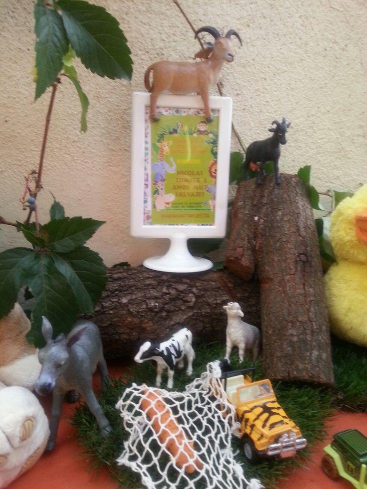 La invitación estaba presente entre animales