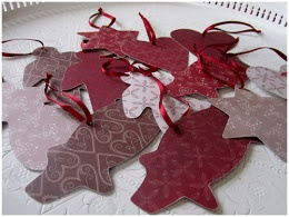 DIY gift tags or christmas tree decorations