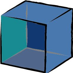 Blue Colour Cube. Take a peek at our collection of rooms featuring cool, serene #Blue