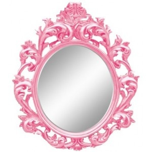 Pink Wall Mirror 135 best espelhos images on pinterest | mirror mirror, mirrors and