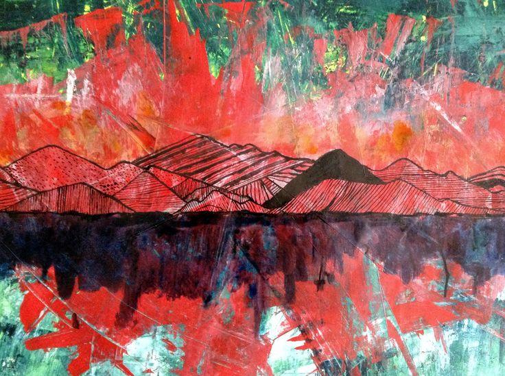 #tenuveo#art#Mountain#illustration