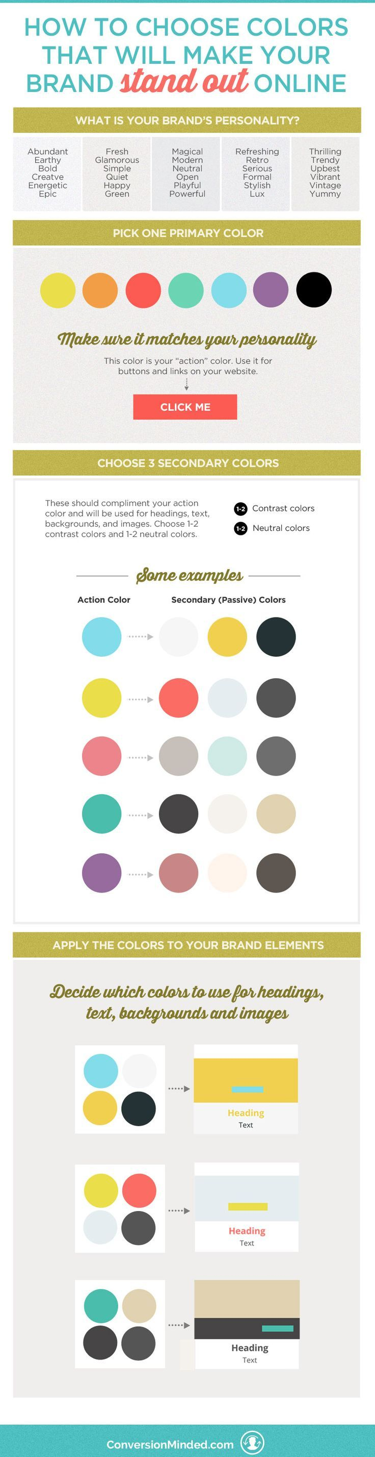 How to Choose Colors That Will Make Your Brand Stand Out | Do you love creating mood boards and collecting colors, but then find yourself a bit stumped with how to apply them to your brand? This post will help! It includes tips for entrepreneurs and biz owners to help you select and apply your brand colors with purpose and intention. Click through to see all the color tips!!