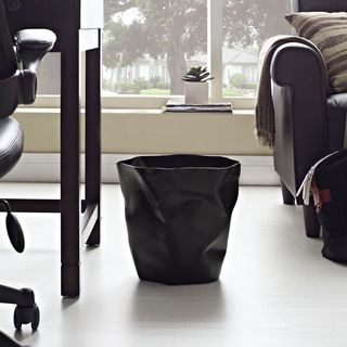Modway Lava Modern Black Trash Bin | Overstock.com Shopping - Top Rated Modway Trash Cans