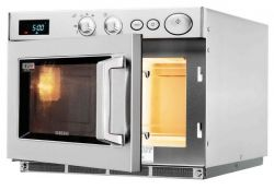 Samsung's oversize compacts: microwave ovens for multi-portions, big ...