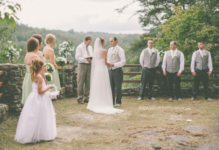 falls & creeks ↠ tennessee wedding