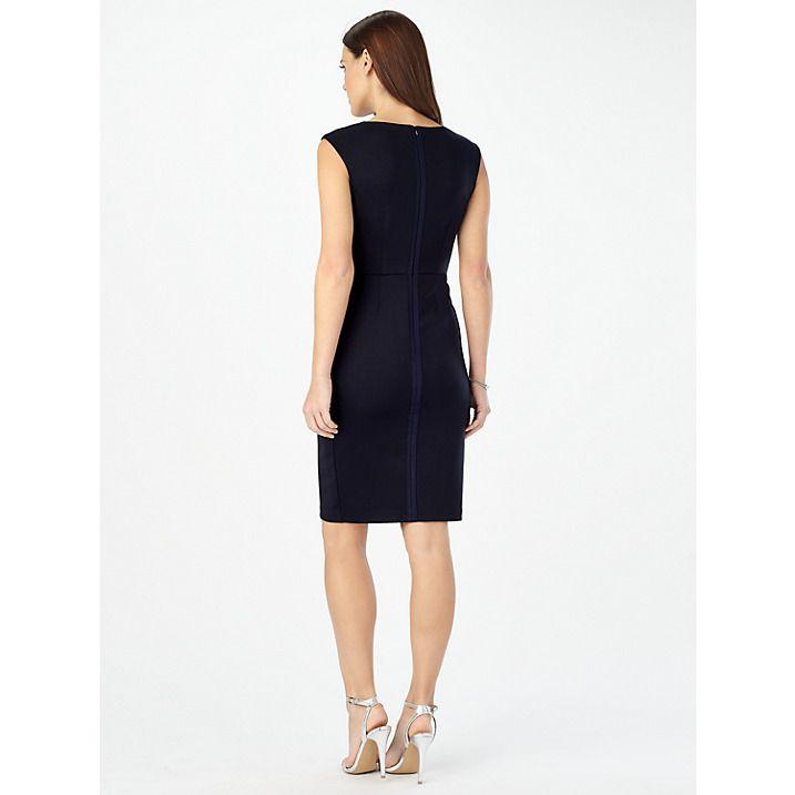 Simple Wedding Dresses John Lewis: Buy Phase Eight Camilla Rose Floral Dress, Navy, 10 Online