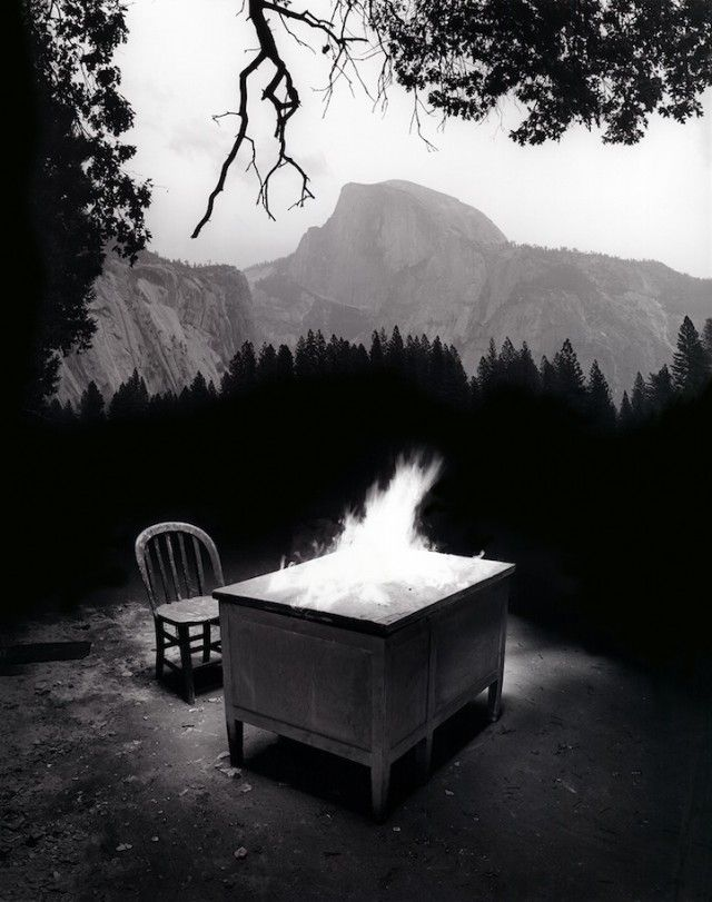Jerry Uelsmann Photography10.  Half Dome is were I proposed my wife to marry me.