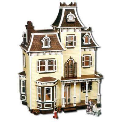 Best 25 beacon hill dollhouse ideas on pinterest doll for Victorian kit homes