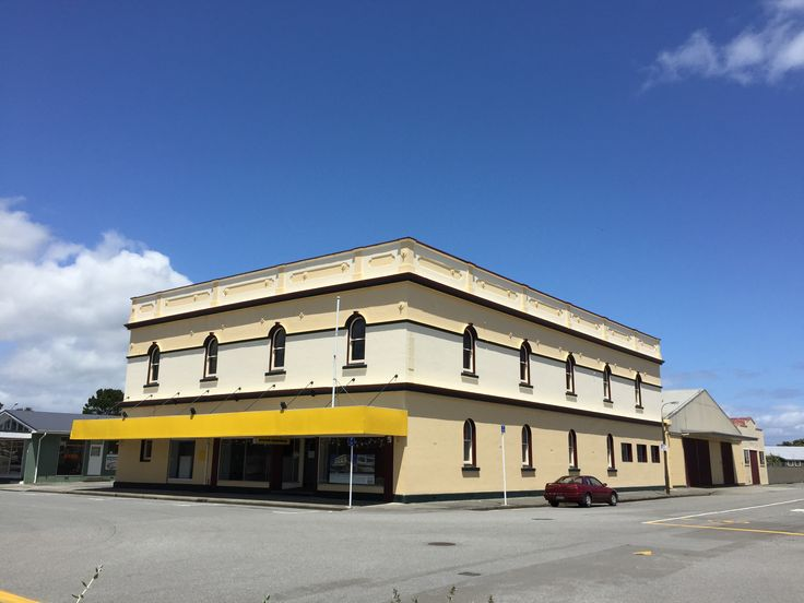 Renton's Hardware, corner of Hamilton and Tancred Streets, Hokitika. This business traded from this location from 1874. This building (constructed between 1907-08) is currently being considered for demolition and conversion into a car park.