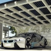Power your e-bimmer off of the sun? BMW offers solar panel packages for i3 buyers' homes through SOLARWATT