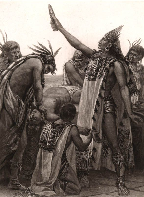 The Blood Thirsty Indigenous Peoples of the Americas