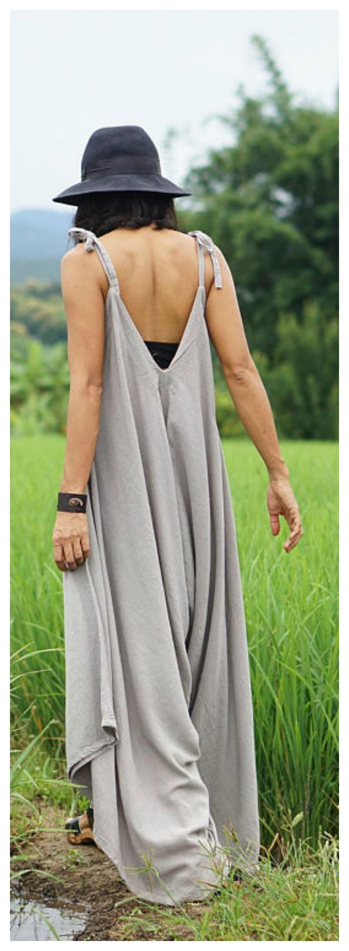 Bohemian Jumpsuit On Etsy For only 49$, Enjoy the offer!!!   Harem jumpsuit, loose jumpsuit, clothing-gift, women loose jumpsuit, wide leg jumpsuit, festival jumpsuit, summer jumpsuit, jumpsuit