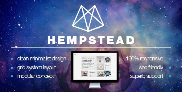Hempstead – Responsive Portfolio WordPress Theme - Portfolio Creative