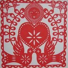 Image result for papel picado dia de los muertos templates