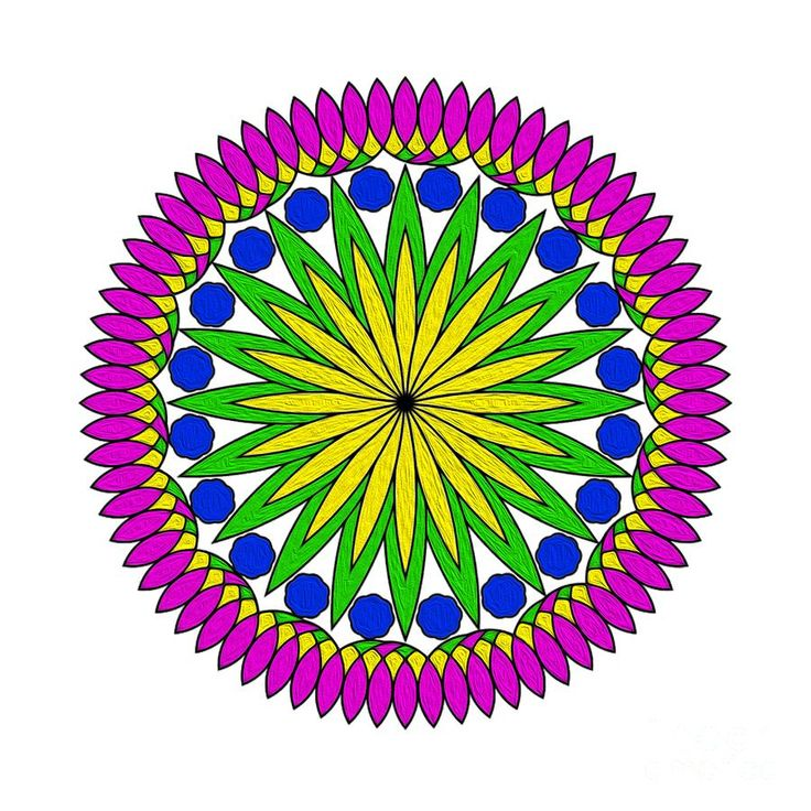 #Flower #Mandala by #Kaye_Menner #Photography Quality Prints Cards Products at: http://kaye-menner.pixels.com/featured/flower-mandala-by-kaye-menner-kaye-menner.html