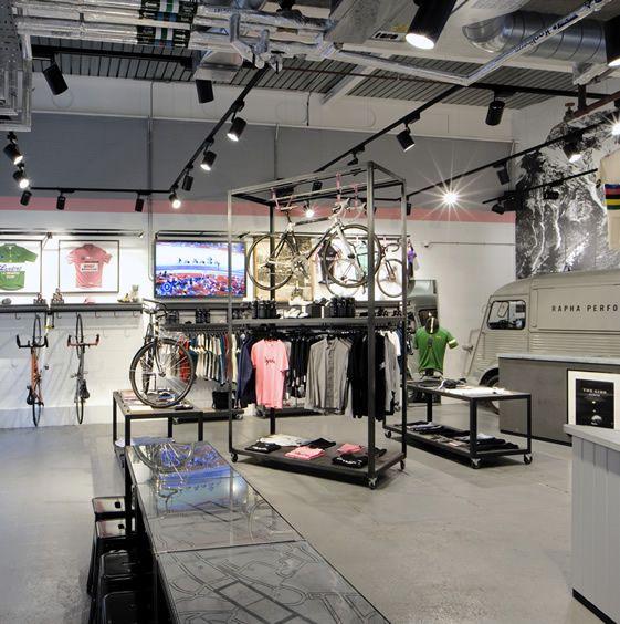 Rapha Cycle Club, London