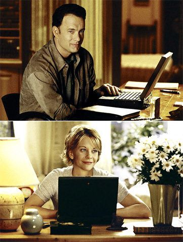 I love this movie! I will never get tired of it! Books. Christmas Lights. Tea or Coffee. Pride & Prejudice. Puffy blankets. And most importantly..mail :) What more can you want? You've Got Mail.