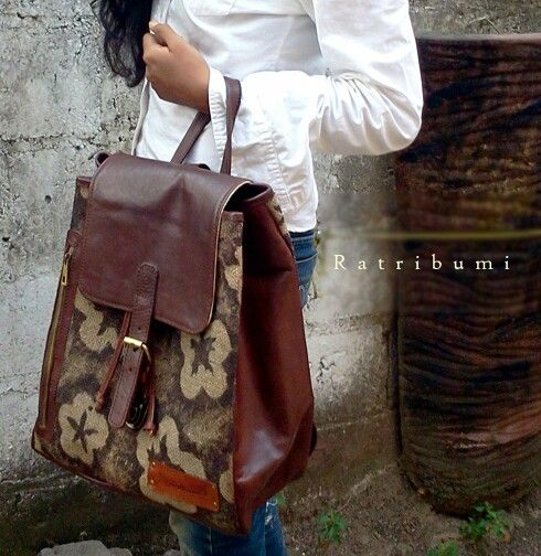 ratribumi leather bag #ratribumi #handmade #unique #specialformymoms #darkbrown