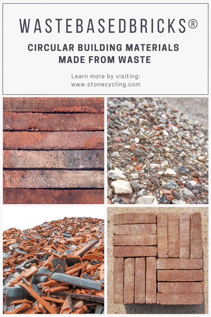 Pin On Sustainable Designer Bricks From Waste
