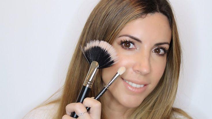 Aparichi Makeup: Blog de Maquillaje y Belleza - Maquilladora Profesional Madrid: VIDEO: CÓMO MAQUILLARSE EN 5 MINUTOS UTILIZANDO SÓLO DOS BROCHAS