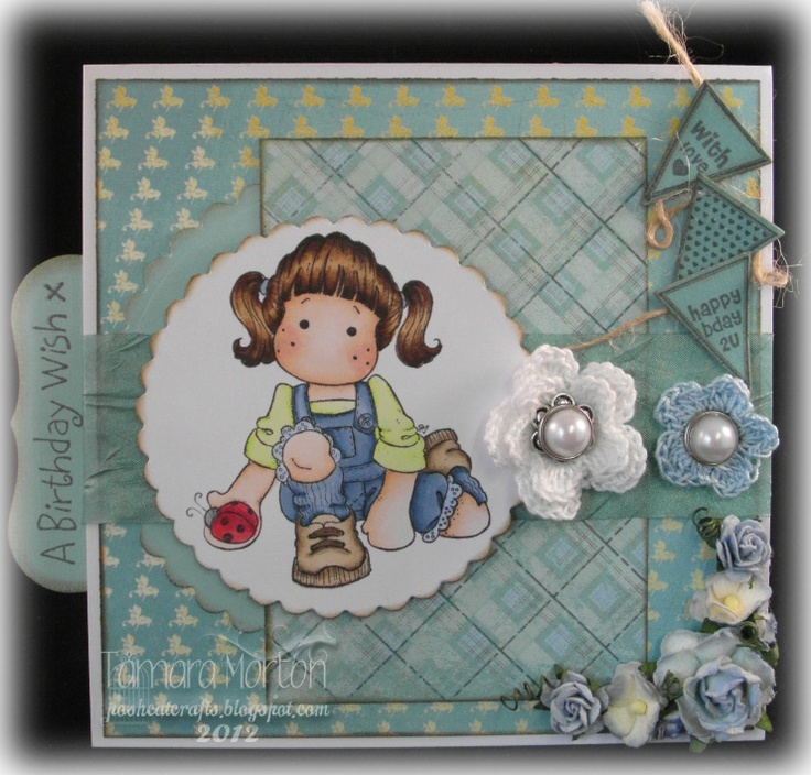 Card designed for Anything Goes Challenge Blog
