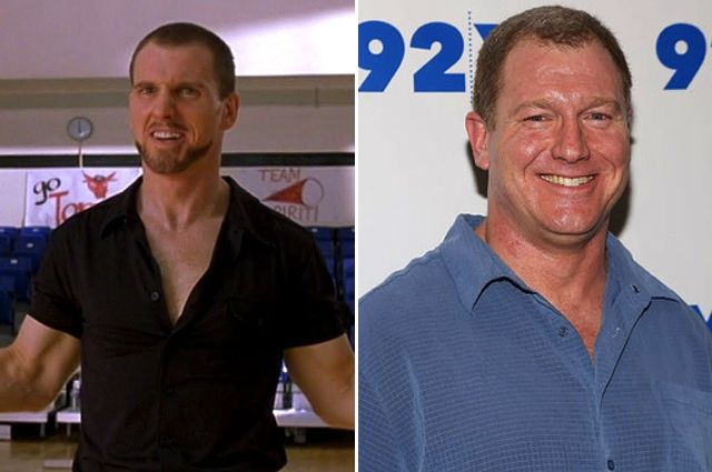 Ian Roberts as Sparky Polastri - Bring It On 15 yrs later