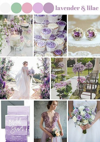 If you are a soft, gentle lady, try to use Lavender and Lilac Wedding Theme.
