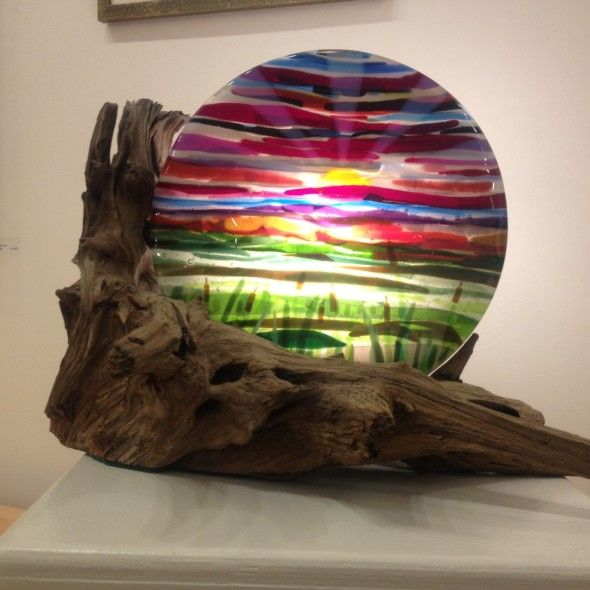 1000 images about fused glass artsy fartsy on pinterest for How to make stained glass in driftwood