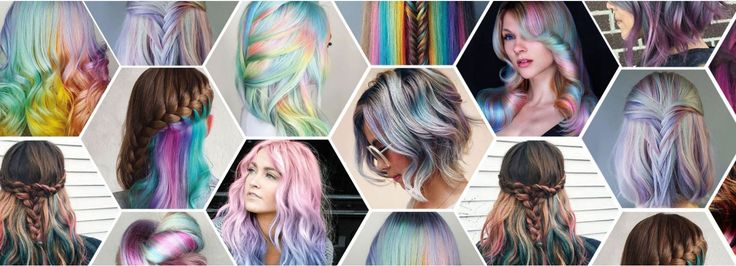 Capelli arcobaleno sotto, nascosti, corti e come farli: i rainbow hair più belli da copiare