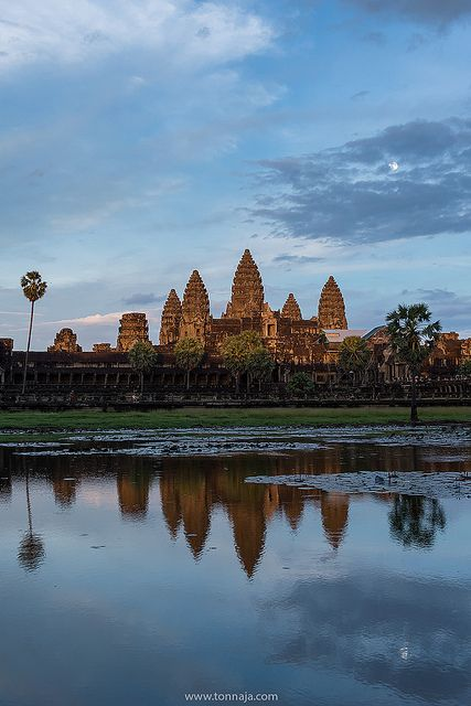 Angkor Wat - The best place in the world to catch  a sunrise!