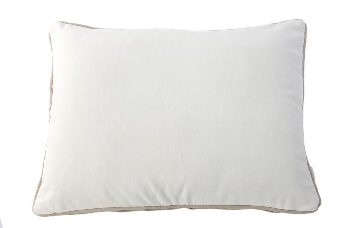 MrsBLOOM: Velvet Cushion off white 50x40
