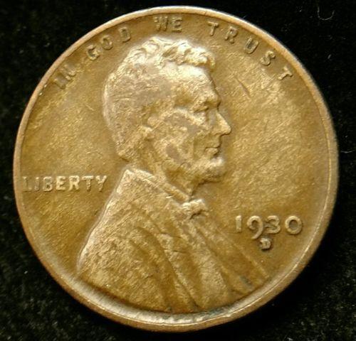 #error #errorcoins 1930-D Improper Alloy Error Lincoln Cent Wheat Penny