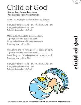 i am a child of god lyrics pdf