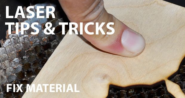 Laser tips & tricks: Fix materials | Cartonus