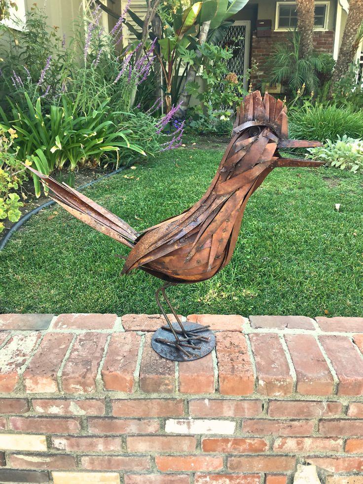 Roadrunner,Metal Art,Metal Sculpture,garden Art,southwestern,bird,animal