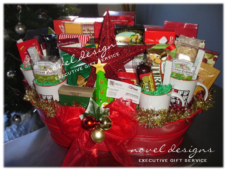 50 best images about gift basket ideas for work on for Customer holiday gift ideas