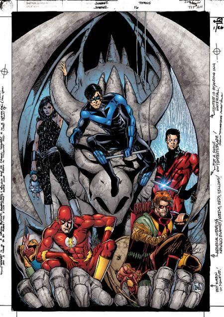 Teen Titans #16 - Phil Jimenez