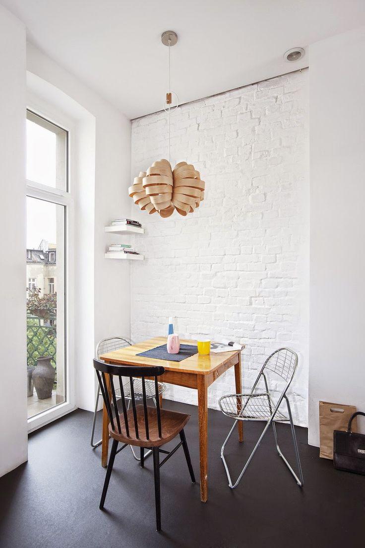 Blog wnętrzarski - design, nowoczesne projekty wnętrz: Minimalistyczne mieszkanie 62m2 położone w Poznaniu