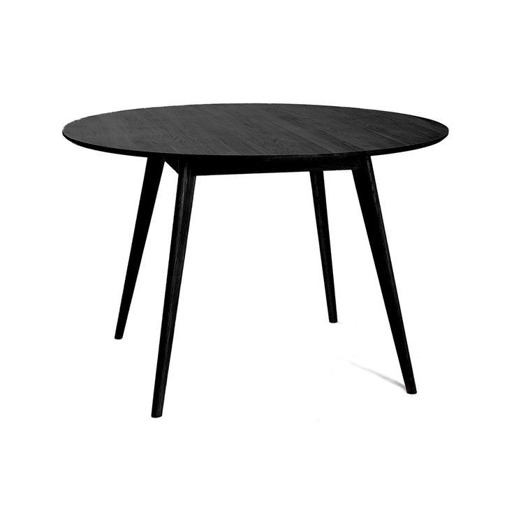 Nordik+Spisebord,+Sort/Ask,+Select21