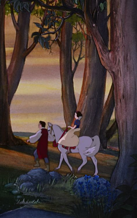 Snow White: outdated storyline aside, this older, flowing, muted color animation is my absolute favorite