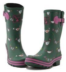 Evercreatures Ladies Wellies shortie boots Chicken