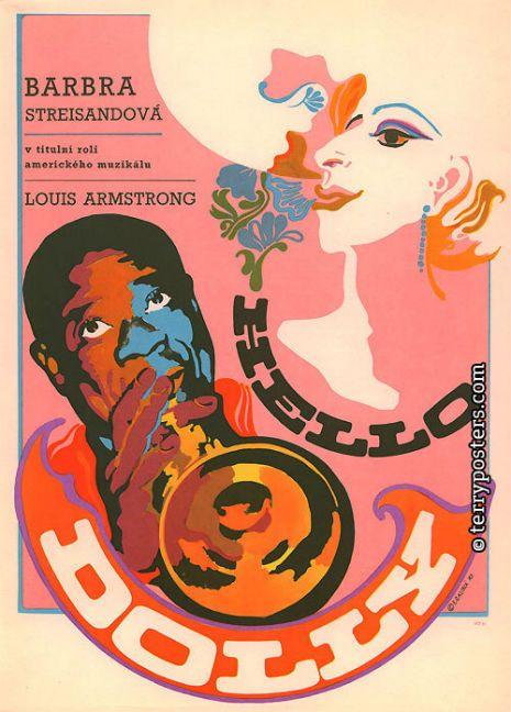 Trippy Czechoslovakian movie posters of classic American films | Dangerous Minds