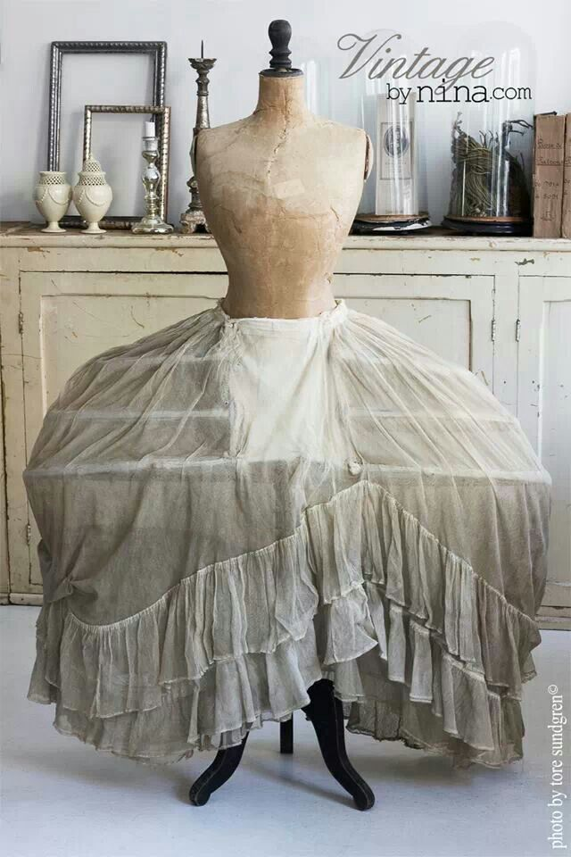 17 Best Images About Antique Petticoats And Panniers On